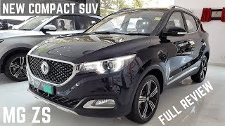 2020 MG ZS Compact SUV India Real Life Review - Premium Interiors, Latest Features, Powerful, Price
