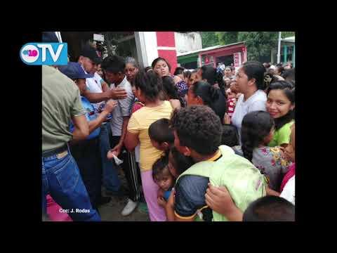 Nicaragua vive un año más la tradicional Gritería en honor a la Virgen María