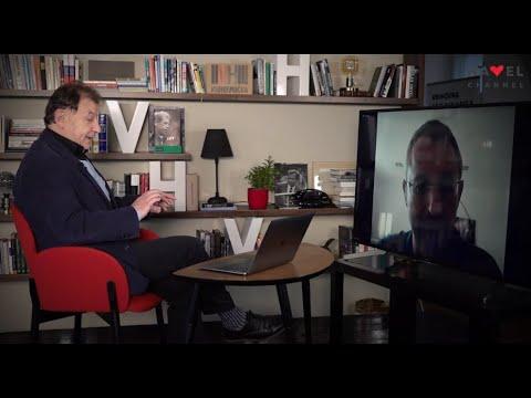Přehrát video: Eškol Nevo v Otaznících Michaela Žantovského | Eshkol Nevo in Question Marks of Michael Žantovský