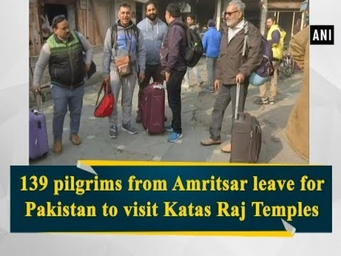 139 pilgrims from Amritsar leave for Pakistan to visit Katas Raj Temples