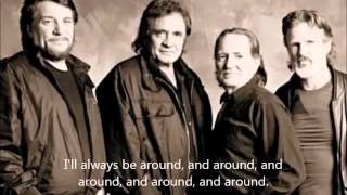 Johnny Cash, Willie Nelson   The Highwayman