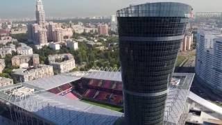 The new stadium CSKA. New stadium RUSSIA. Stadium Moscow
