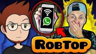 LLAMO A ROBTOP POR TELÉFONO Y ME RESPONDE !!