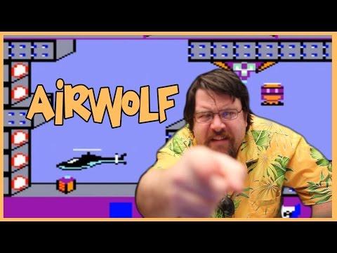 Le joueur du grenier teste Airwolf sur CPC