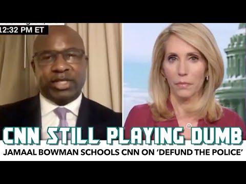 Jamaal Bowman Schools CNN On 'Defund The Police'