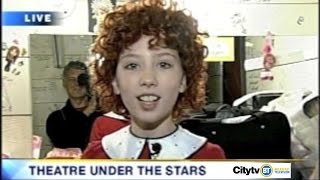 Breakfast Television 2009 feat. Michelle Creber as Annie (Of Course!)