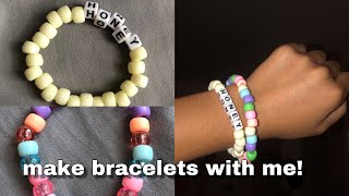HOW To Make Beaded Bracelets