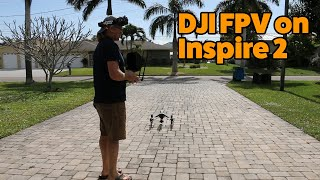 Get a LOT more out of your DJI Inspire 2 by installing a DJI Air Unit FPV system