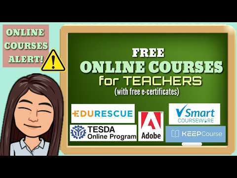 FREE ONLINE COURSES FOR TEACHERS WITH CERTIFICATES