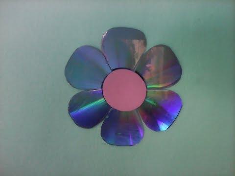 Flor Rosa com CD