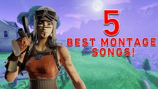 Top 5 BEST Songs To Use In Your FORTNITE Montages!!