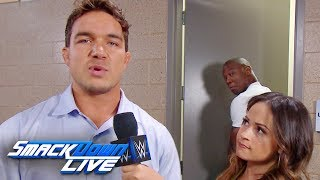 Shelton Benjamin belittles Chad Gable: SmackDown LIVE, Aug. 20, 2019