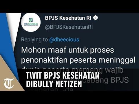 Suruh Orang Meninggal Datang ke Kantor dalam Twitnya, BPJS Kesehatan Dibully Netizen
