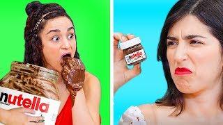 COMIDA GIGANTE VS. EN MINIATURA    ¡Retos graciosos y bromas locas para los amantes de la comida!