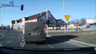preview picture of video 'Trasa egzaminacyjna PRAWO JAZDY: ZORD Koszalin - Bohaterów Warszawy w ulicę Morską'