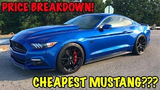 CHEAPEST 2017 FORD MUSTANG GT???