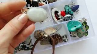 Gemstone Jewelry Collection / Part 1 - Pendants