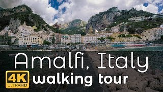 Amalfi, Italy Walking Tour In 4K