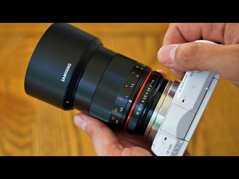 Samyang 85mm f/1.8 UMC CS lens review with samples