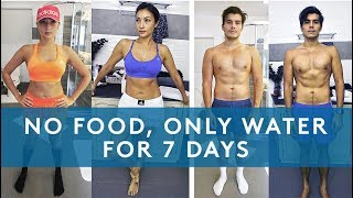 7 DAY WATER FAST RESULTS (NO EATING FOR A WEEK) - Video Youtube