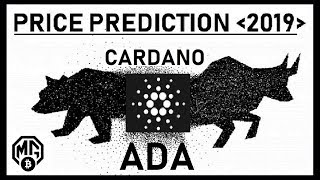 CARDANO~ADA~PRICE PREDICTION 2019: REALISTIC/PRAGMATIC/FACTUAL