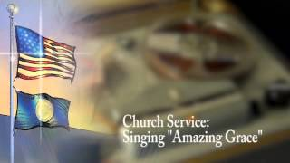 "Church Service, ""Amazing Grace"""