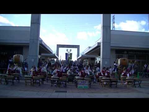 筑西市大和保育園和太鼓演奏「天昇太鼓」 大和保育園伝統曲