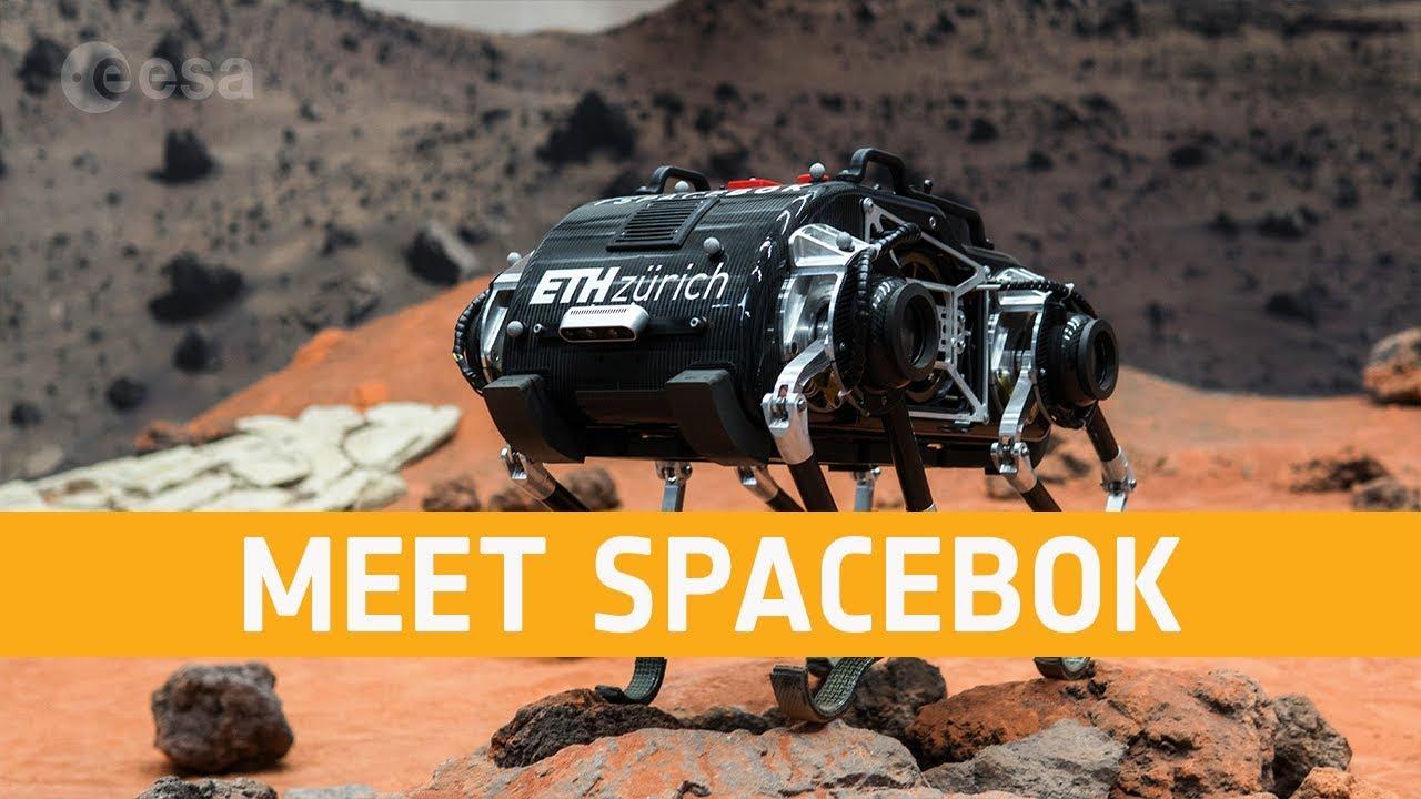 #видео | Робот научился прыгать по поверхности Луны
