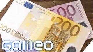 Geheime Sicherheitsmerkmale?! 5 Geheimnisse über Geldscheine | Galileo | ProSieben