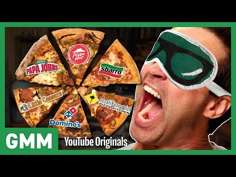 Blind Fast Food Pizza Taste Test