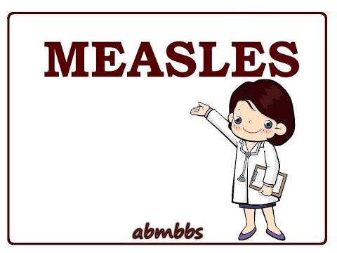 Video Measles (rubeola) - causes, symptoms, treatment (vaccines) & pathology