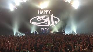 Countdown to Midnight on 311 Day! Intro to Unity. 311 Day 2018 Las Vegas Park Theater