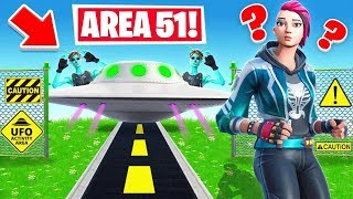 AREA 51 HIDE And SEEK For LOOT *NEW* Game Mode in Fortnite Battle Royale