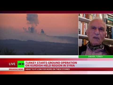 Turkish planes bomb Syrian Kurdish targets as Ankara-backed rebels enter Afrin