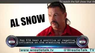 Al Snow On ECW's Worst Effect On Wrestling! Truly Eye Opening!