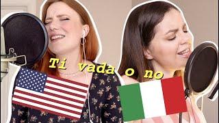 my italian friend helped me sing TI VADA O NO