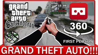 360° VR VIDEO - GTA Real Life - GTA First Person - GTA VR - GTA VIRTUAL REALITY