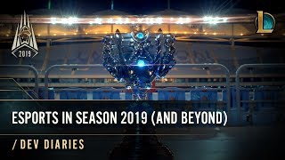 Esports in Season 2019 (and Beyond)   /dev diary - League of Legends