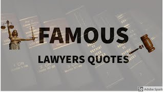 Important Law Quotes