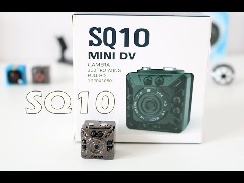 SQ10 Mini Camera Review  - Sample Footage Night Vision