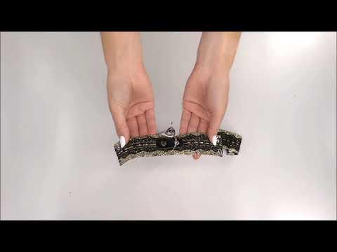 Elegantní pouta A746 cuffs - Obsessive