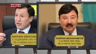 Джаксыбеков - Исекешев - Султанов: перестановки в Казахстане