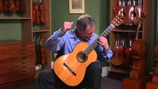 Guitar by Hermann Hauser III, Reisbach 1986