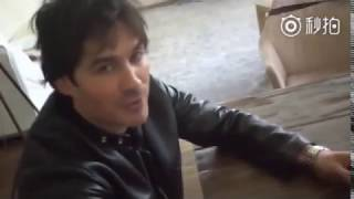 Иэн Сомерхолдер, Ian Somerhalder on Webio 26.04.2018