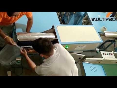 Multipro Comforter Rolling Machine / Comforter Packing Machine / Comforter Roll Pack Machine