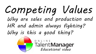 Introduction to Competing Values Framework