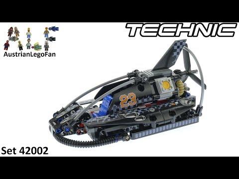 Vidéo LEGO Technic 42002 : L'aéroglisseur