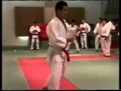 Дзюдо.KATANISHI 1.Техника передвижений и подворотов. видео
