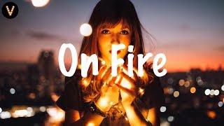 Thomas Gold X Rico & Miella - On Fire (Lyrics / Lyric Video) Caez Intro Edit