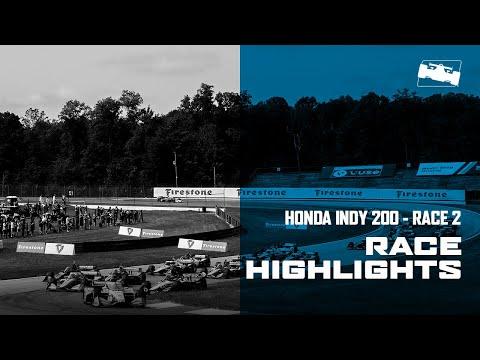 6分で見る!ハイライト動画。2020 インディ200・アット・ミッドオハイオ 決勝レース2のダイジェスト動画